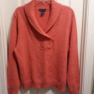 Karen Scott sweater cotton sz.L